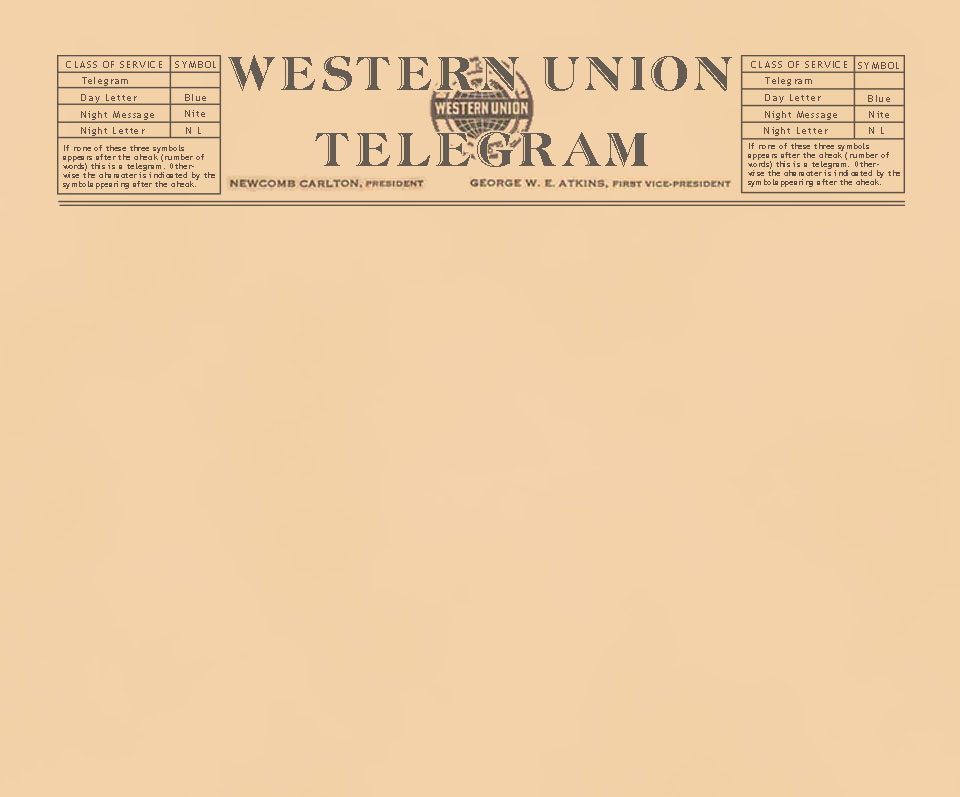 Western Union Telegram Logo Www Pixshark Images